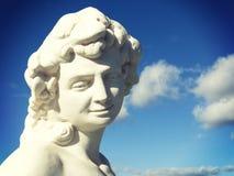 仿古罗马雕象 免版税库存照片