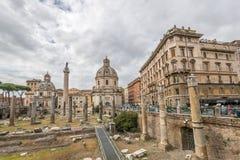 古罗马,意大利 免版税库存图片