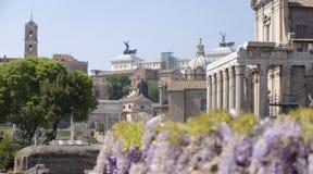 古罗马,意大利 库存照片
