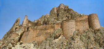 古老东部堡垒seljuq火鸡 图库摄影