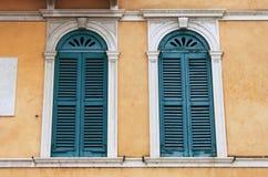 古老中世纪窗口 库存图片