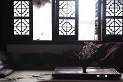 古老中国休息室 免版税图库摄影