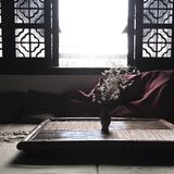 古老中国休息室 库存照片