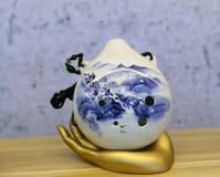 古老中国传统仪器瓷 库存图片