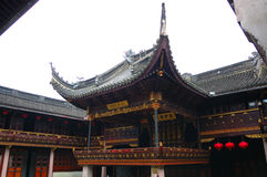 古老中国剧院 免版税库存照片