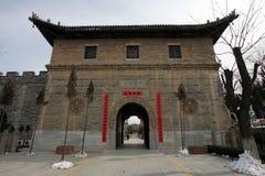 古老中国城镇 免版税库存图片