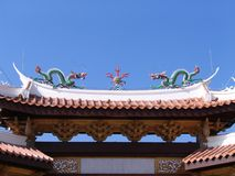 古老中国塔 免版税库存照片