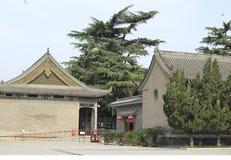 古老中国大厦 免版税库存图片