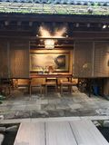 古老中国学校在湖南 库存照片