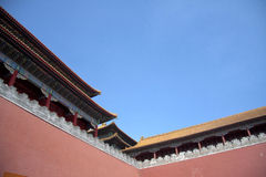 古老中国宫殿 免版税库存照片