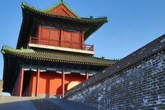 古老中国建筑学城堡样式  免版税库存照片