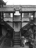 古老中国房子 免版税图库摄影