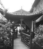 古老中国房子 免版税库存照片
