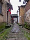 古老中国村庄在中国南方,长乐 库存照片