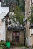 古老中国村庄在中国南方, Sanmenyuan 免版税库存照片