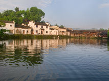 古老中国村庄在中国南方, Zhugecun 免版税库存照片