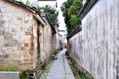 古老中国村庄 免版税库存照片