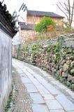 古老中国村庄 图库摄影