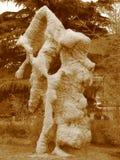 古老中国石头 免版税库存照片