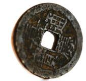 古老中国硬币 库存图片