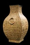 古老中国花瓶 免版税库存图片