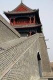 古老中国门塔 图库摄影