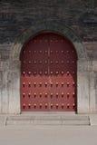 古老中国门 免版税图库摄影