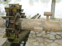 古老中国水轮 图库摄影