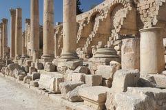 古老主要罗马废墟街道城镇 库存图片