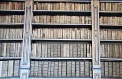 古老书图书馆 免版税图库摄影