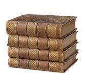 古老书堆 库存照片