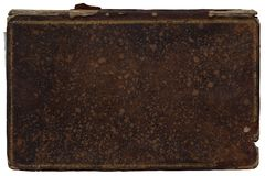 古老书纹理盖子  免版税库存图片