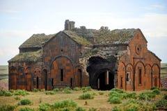 古老亚美尼亚教会 免版税库存照片