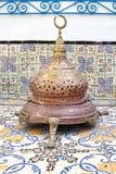 古老人工制品在Dar El Annabi是一个民族志学博物馆 免版税库存照片