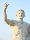 古老人雕塑 免版税库存图片