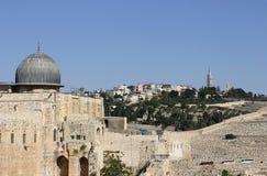 古老以色列jerusale清真寺 免版税库存照片