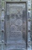古老伪造的门 免版税库存图片