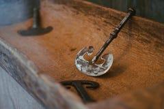 古老低谷工具 免版税库存照片