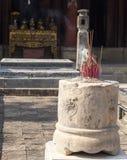 古老佛教塔洞复杂Bich东 图库摄影