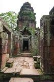古老佛教高棉寺庙 免版税库存照片
