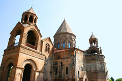 古老使徒教会在亚美尼亚 免版税库存图片