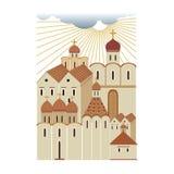 古老俄国城市2, 库存照片