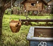 古老俄罗斯的海岛文化 免版税库存图片