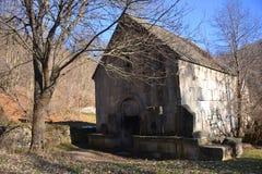 古老修道院在迪利然 免版税库存照片