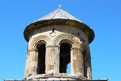古老修道院塔 免版税图库摄影