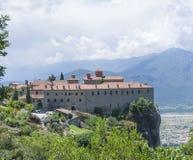 古老修道院希腊人飞星 库存图片