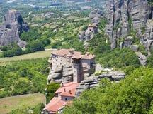 古老修道院希腊人飞星 库存照片