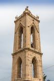 古老修道院钟楼,塞浦路斯 免版税图库摄影