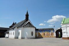 古老修道院 免版税库存图片