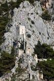 古老克罗地亚堡垒 库存照片